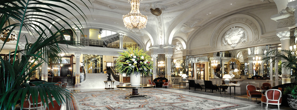 paris hotels de luxe